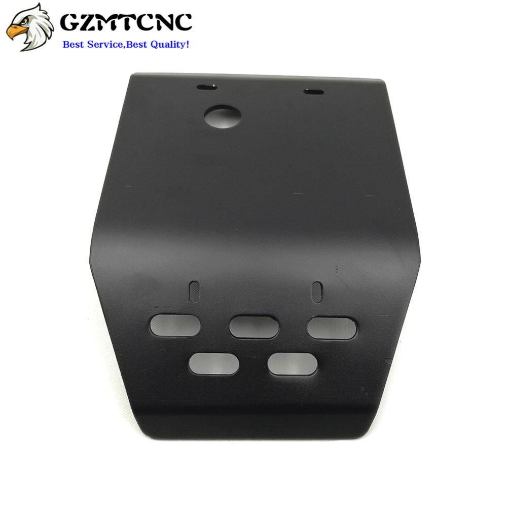 US $63 13 18% OFF|XG250 XT250X ED Skid Plate Engine Guard Chassis Lower  Cover Protection 5MM Thickness for Yamaha Tricker XG 250 | Serow XT 250X-in