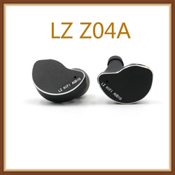LZ Z04A Bio-Cellulose Z05A Carbon Nano-Coated  Dynamic Driver HiFi in-Ear Earphone with Detachable MMCX Cable Mic Earbuds