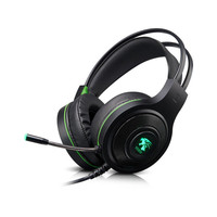 V5000 Games Luminescence Headset Head Wearing Type Music Noise 7.1 PC Gaming USB headset