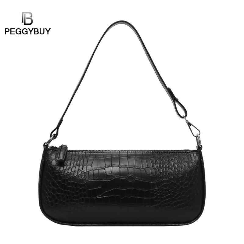 0ad931e3e6 Retro Alligator Pattern Women Messenger Flap Handbags PU Leather Street  Casual Solid Zipper Shoulder Bags Bolsa