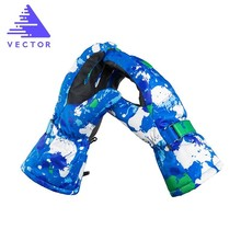 Extra Thick Ski Gloves Touch-Screen Snowboard Men Snow Sport Outdoor Warm Snowmobile Skiing Winter Windproof Waterproof 2019 Hot
