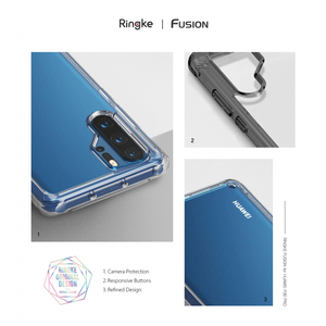 Image 5 - Ringke Fusion Case For Huawei P30 Pro  Flexible Tpu and Clear Hard Back Cover Hybrid  Case