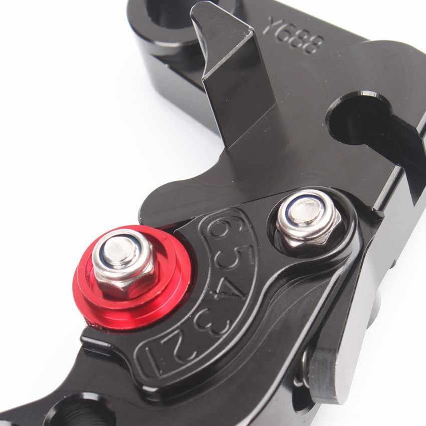 For Yamaha YZF R6 1999 2000 2001 2002 2003 2004 R1 FZ1 FAZER 2001-2005 2002-2003 R6S 2006-2009 Black Short Brake Clutch Levers