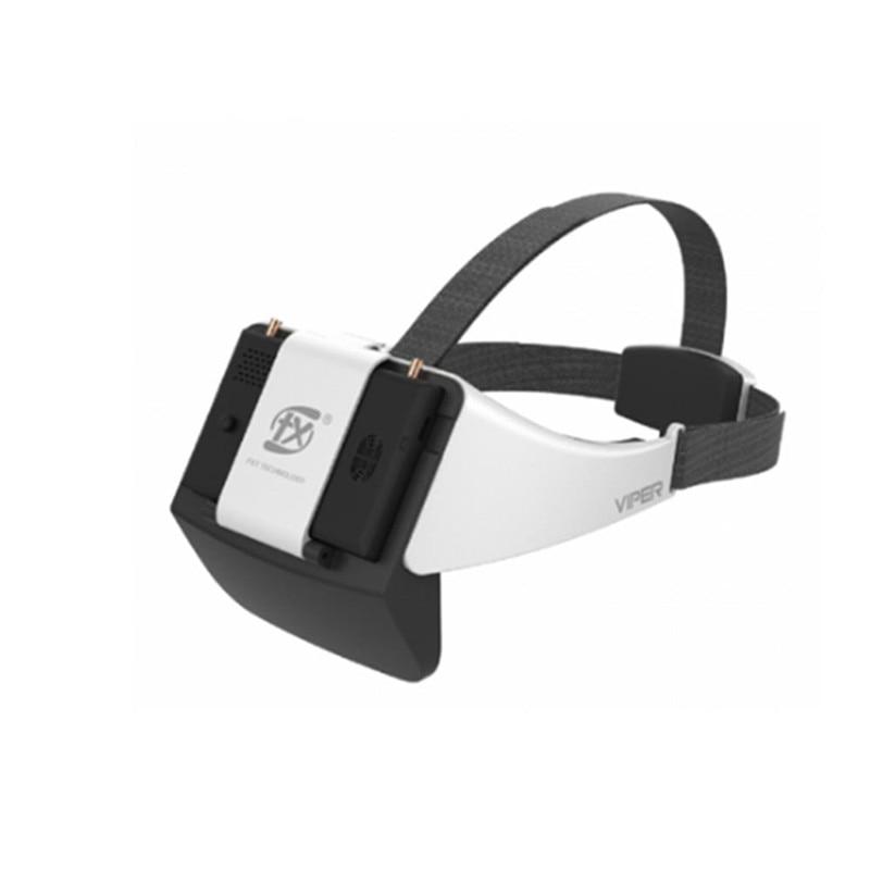 FXT VIPER 5.8G diversité HD FPV lunettes pour RC Drone modèles FPV pièces de rechange accessoires avec DVR intégré réfracteur