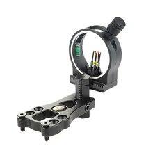 Broca de fibra de visão, totalmente montada cnc usinada para caça ao alvo tp1550 5 pinos com luz e fibra 0.029 ferramenta,