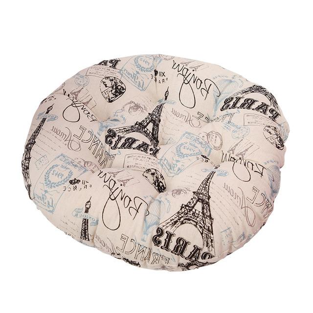 Round Shaped Polyester Seat Cushion
