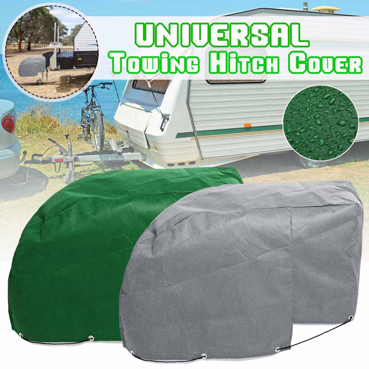 Universal RV Caravan Tailer Towing Hitch Coupling Lock Sunshade Cover Protection Waterproof Dustproof toy story costumes adult