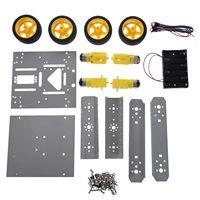 4WD Drive Mobile Robot Platform for Robot Arduino UNO MEGA2560 R3 Duemilanove