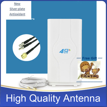 4G LTE Wi-Fi антенны 88 dBi TS9 CRC9 SMA разъем маршрутизатор внешняя антенна MIMO дома с 2*2 м кабели для huawei маршрутизатор модем