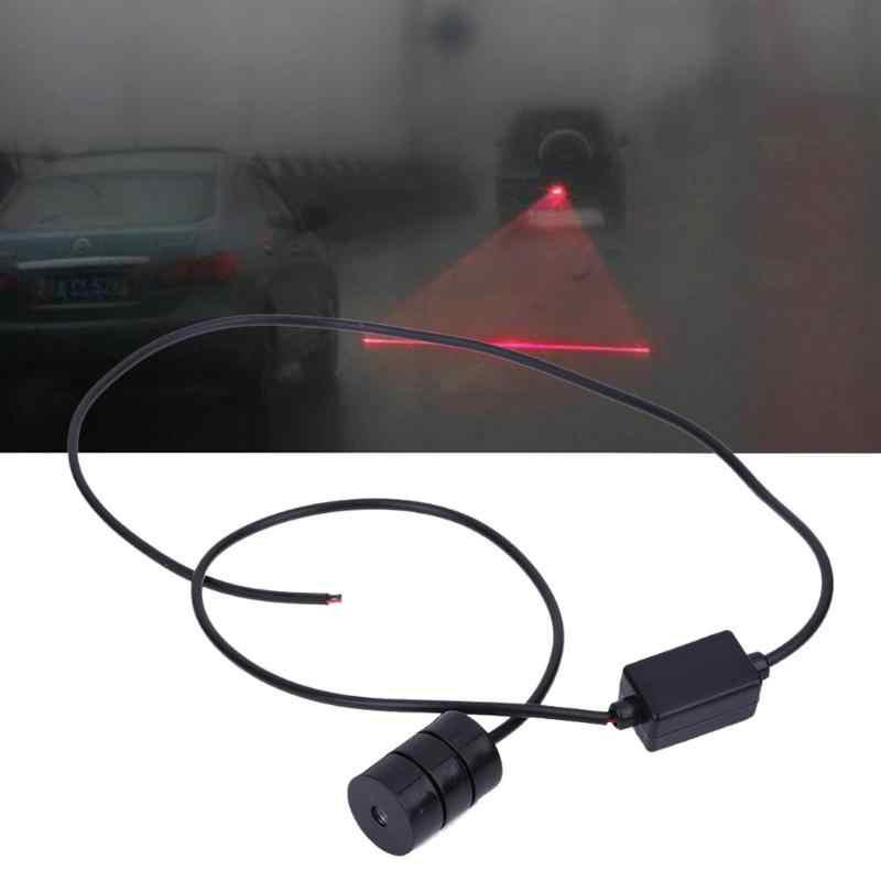 12 V LED Luz de Advertência Anti Collision Car Laser Luz Do Carro Nevoeiro Auto Lâmpada de Freio de Estacionamento Luz de Advertência do Farolim Traseiro Para carro Estilo Do Carro