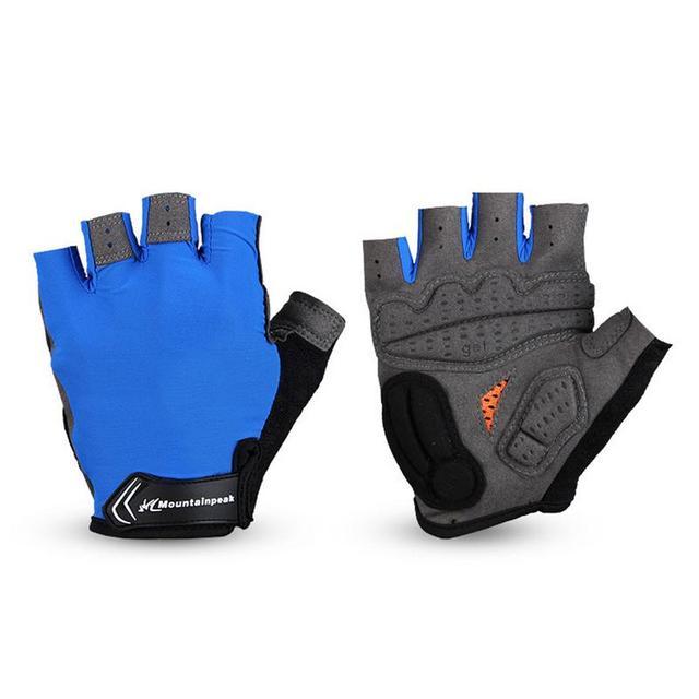 Gants de protection unisexe demi-doigt gants de Fitness gants de vélo protéger poignet choc noir rouge gants de Sport