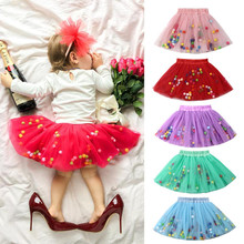 PUDCOCO Stock Toddler Kids Baby Girls Dance Tutu Skirt Pettiskirt Ballet Party