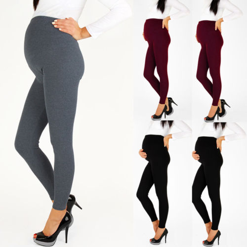 Pregnancy-Pants Maternity-Leggings Comfortable Women Warm Ankle-Length