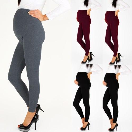 clothes for pregnant maternity women Pregnant Women Warm Comfortable Maternity Leggings Ankle Length Pregnancy Pants