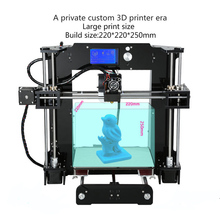 Factory Supply Anet A8/A6 3d Printer 0.4 mm nozzle High Precision Large Printing Size 3d Printer 3d Model Best For Home Used hot sale 3d printer large print size high precision anet a6