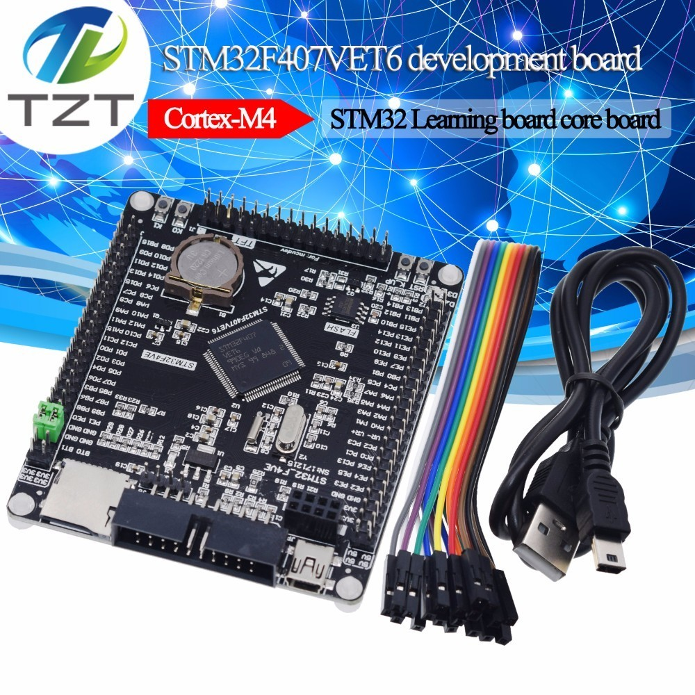 STM32F407VET6 Development Board Cortex-M4 STM32 Minimum System Learning Board ARM Core Board STM Module