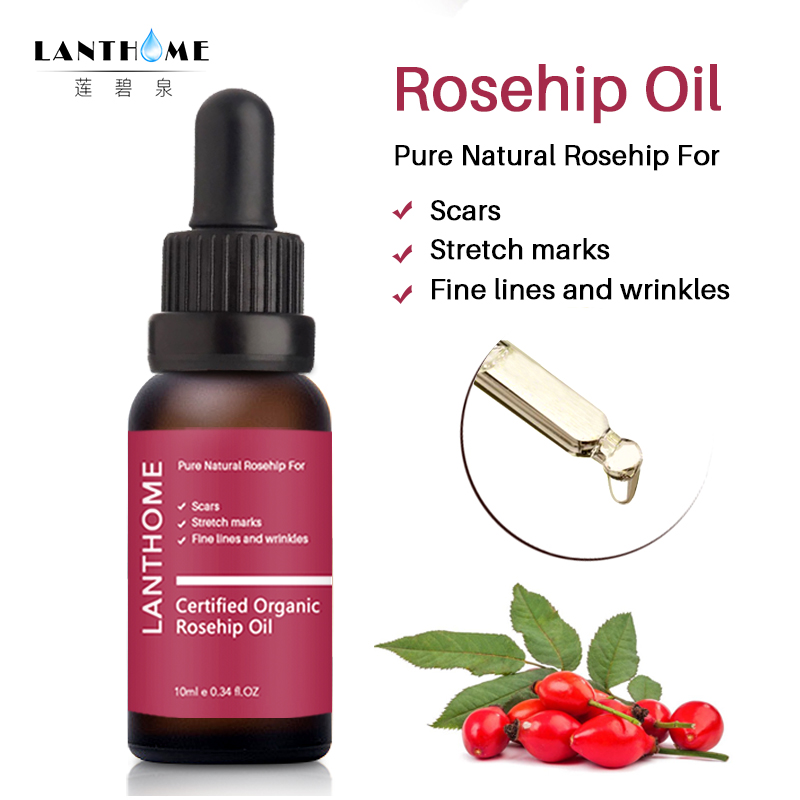 Lanthome Scar Repair Skin Essential Oil Moisturizing Essence Rosehip Oil Skin Care Natural Pure Remove Ance Treatment TSLM1