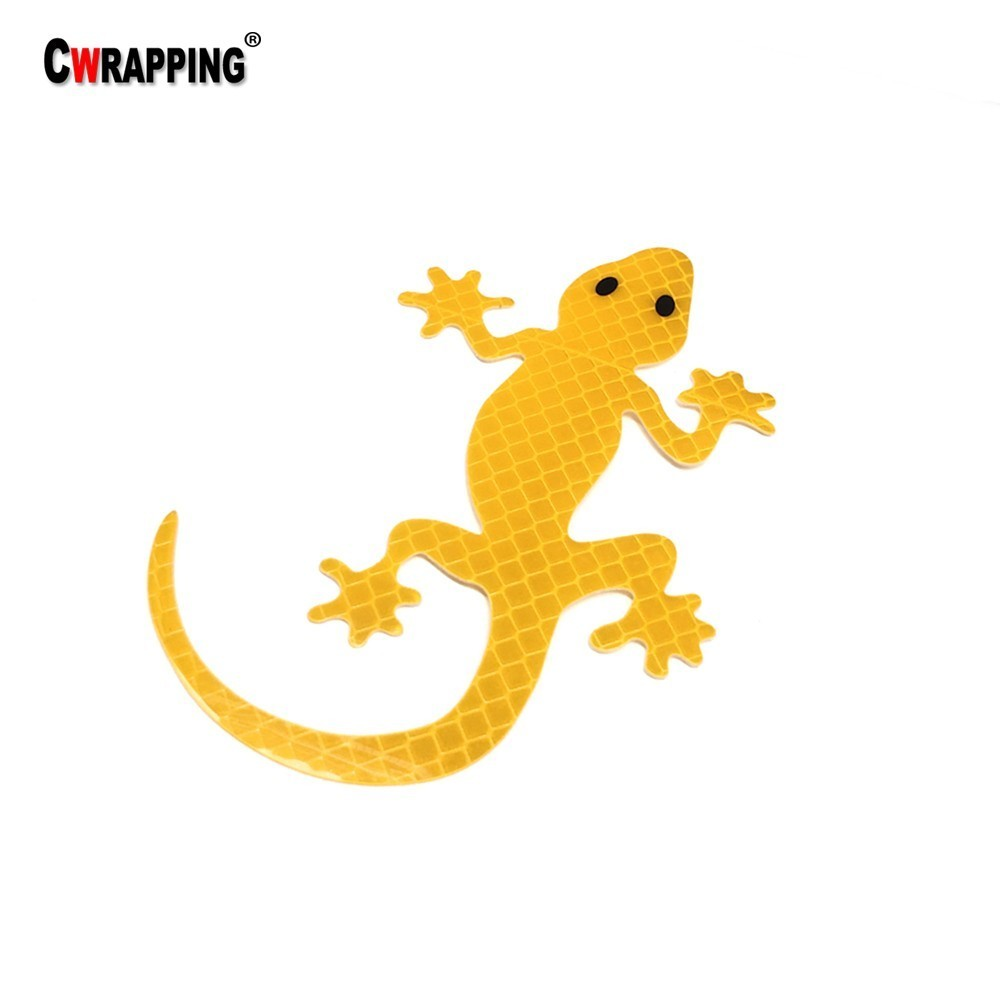 Patterned Lizard Car Bumper Sticker Decal 6/'/' x 3/'/'