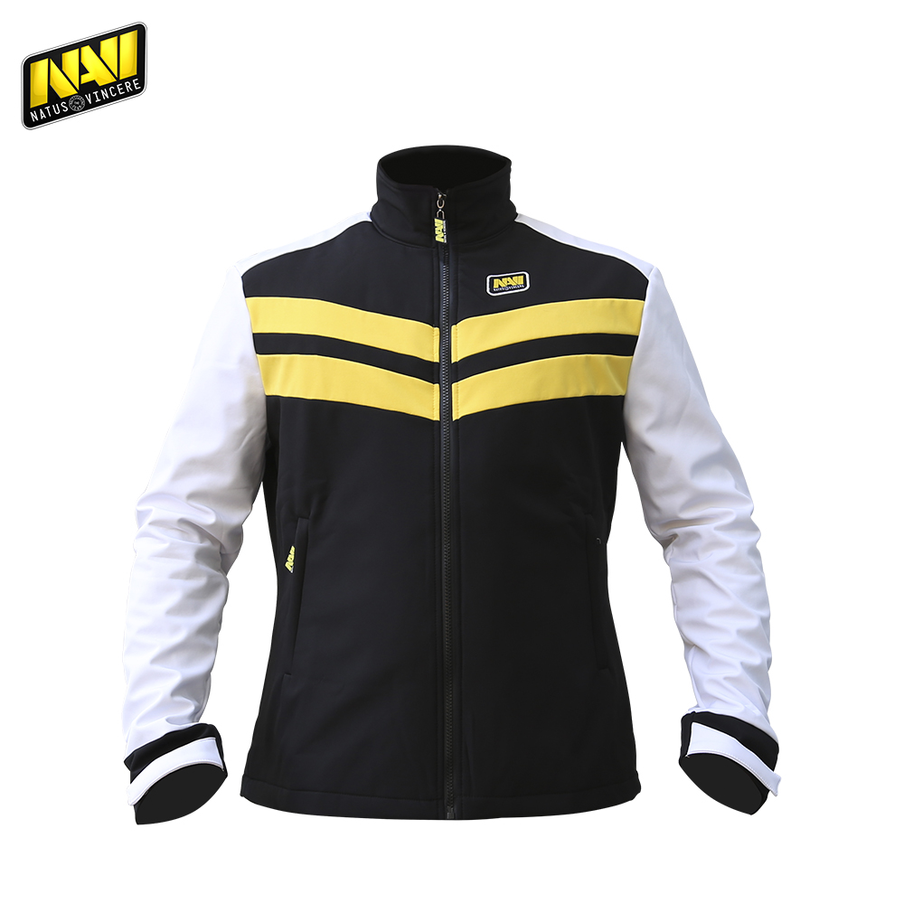 Jackets NATUS VINCERE FNVSSHELL17BK0000 Polyester Casual men clothing coats windbreaker bomber NAVI CS:GO Dota 2 simple esports classic white face gold leather watch men fahion simple design casual watch 2 year warranty china factory cheap brand wristwatch