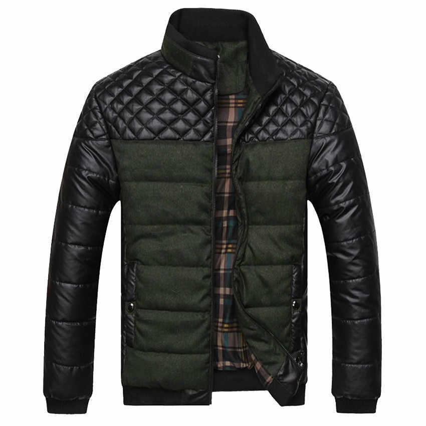 Howl Lofty бренд Для мужчин женские куртки и пальто 4XL ПУ лоскутное дизайнерские куртки Для мужчин верхняя одежда зимние модные мужские Костюмы SA004