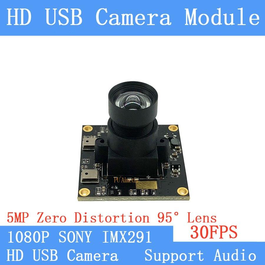 Non Distortion Surveillance camera Star Light Low illumination 2MP Sony IMX291 Full HD 1080P Webcam UVC 30FPS USB Camera Module Non Distortion Surveillance camera Star Light Low illumination 2MP Sony IMX291 Full HD 1080P Webcam UVC 30FPS USB Camera Module