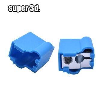 1pcs Volcano Silicone Socks 3D Printer Parts e3d Heated Block V6 J-head Hotend Bowden a4988/Direct Extruder Reprap Block Cover