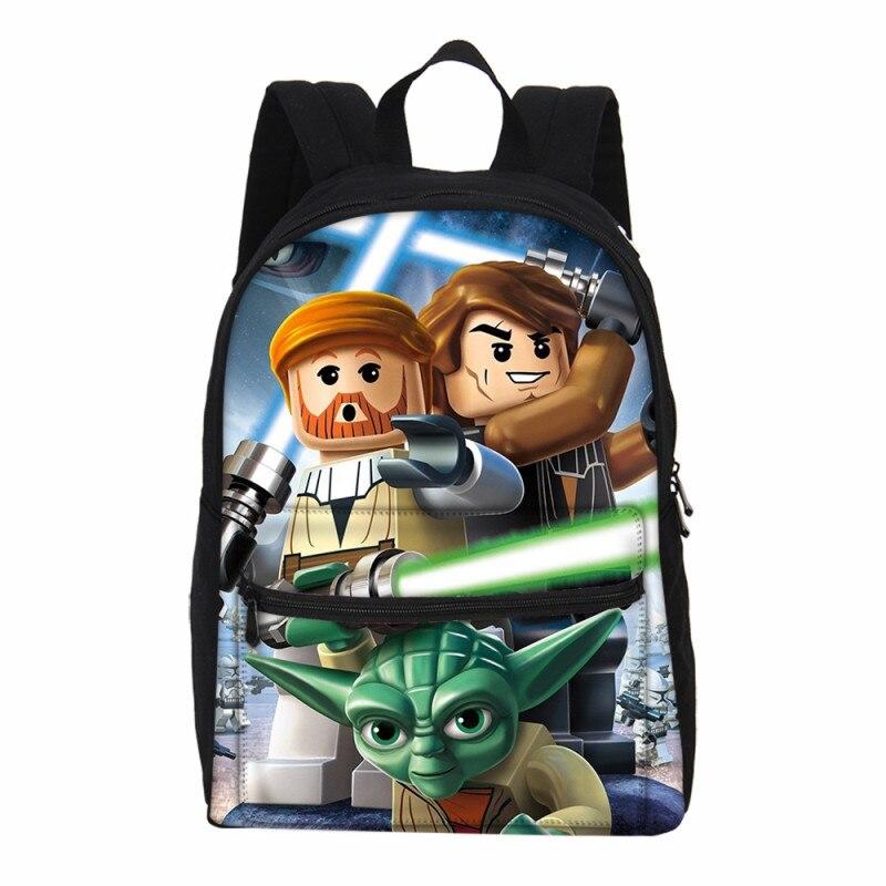 Lego Cartoon Children Bags For Girls Boys Bookbags Cute Batman Ninjago  Print School Laptop Backpack For 7df999313cb58