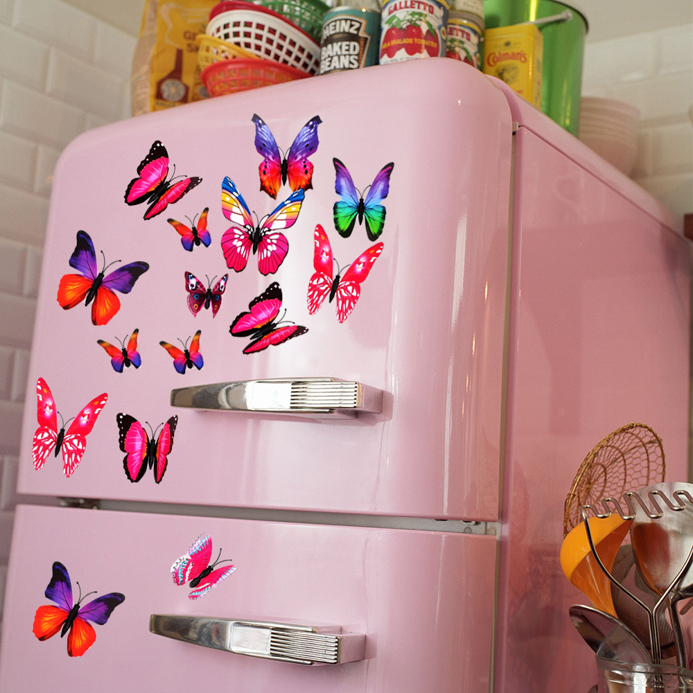 3D Europe North America Fridge Magnet Refrigerator Sticker Art Souvenir Craft