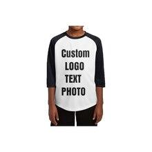Индивидуальная персонализированная футболка для подростков с