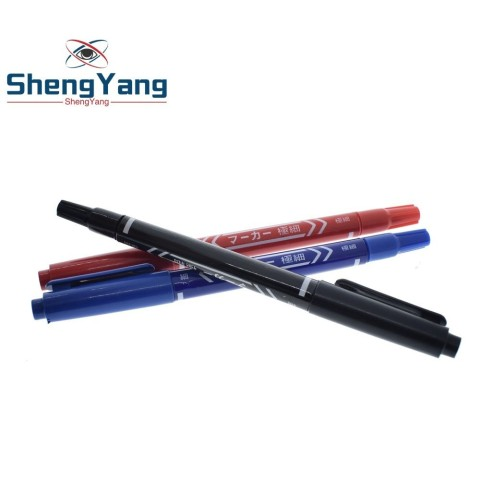 ShengYang  Smart Electronics CCL Anti-etching PCB circuit board Ink Marker Double Pen For DIY PCB Karachi