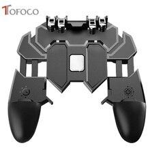 PUBG Controle Gamepad Joystick para Celular Móvel Gatilho Gamer Gaming pad L1R1 PUBG Controlador para iPhone Android
