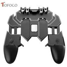 PUBG Mobile Control Gamepad Cell Phone Joystick Gamer Trigger Gaming pad L1R1 PUBG Controller for iPhone Android