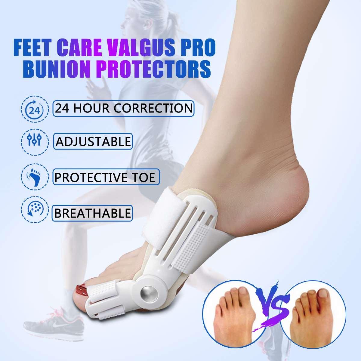 1Pcs Bunion Protector Feet Care Orthotics Pedicure Tool Hallux Valgus Corrector Orthopedic Adjuster Bunion Foot Massager