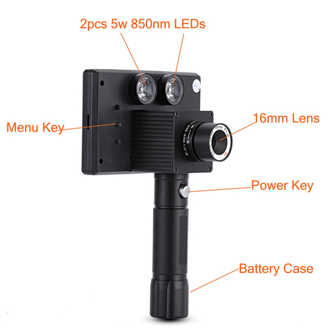 WILDGAMEPLUS WG3012 Wild Game Cameras 1.2 Flux Lens IR NV Hunting Spotter as Night Hunting Product Lahore