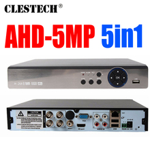 Special price 5MP AHD DVR 5in1 Full D1 H.265 HDMI Security System CCTV 4/8CH Channel NVR Hybrid AHD-H Recorder Mobile HVR RS485 цены