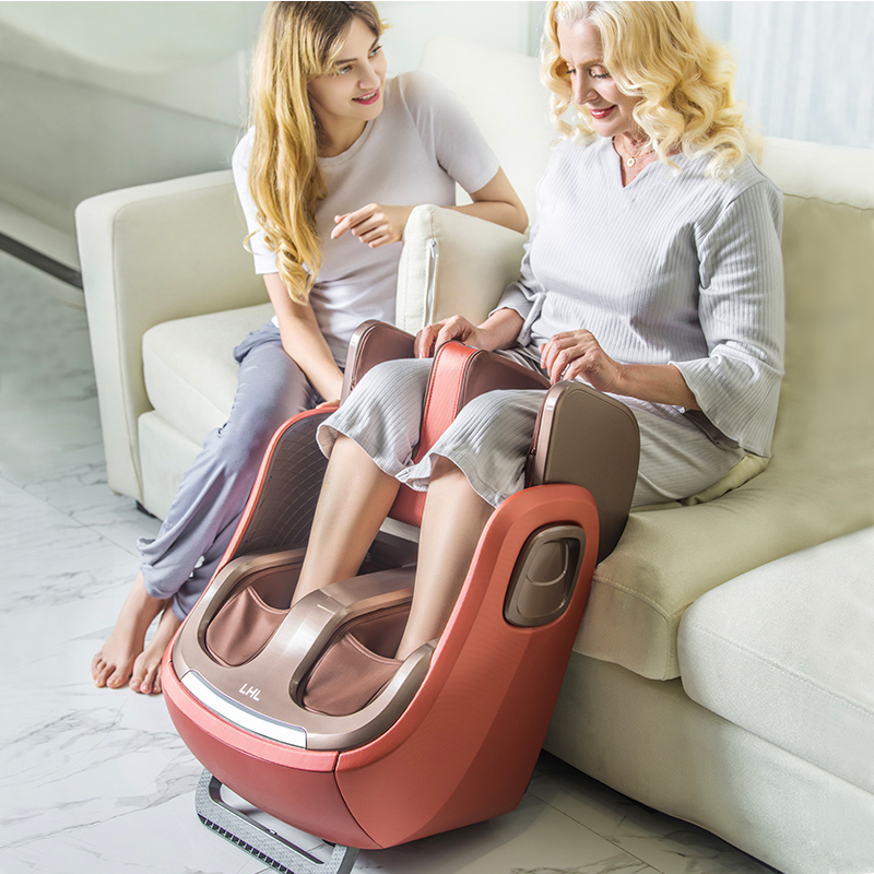 Image 4 - Electric Leg And Foot And knee Massager Infrared Heating Legs Calf Massage Machine Air Pressure Air Compression Massagem-in Massage & Relaxation from Beauty & Health