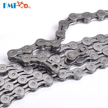 MTB Mountain Bike Chain 9S/10S/11S Speed Hollow Road Bicycle Chains 116 Link Silver Colorful Top Quality shimano road mtb full range of chains bike bicycle chains hg901 701 601 95 54 93 53 40 cn6701 11s 10s 9s 8s 7s 6s shimano chain