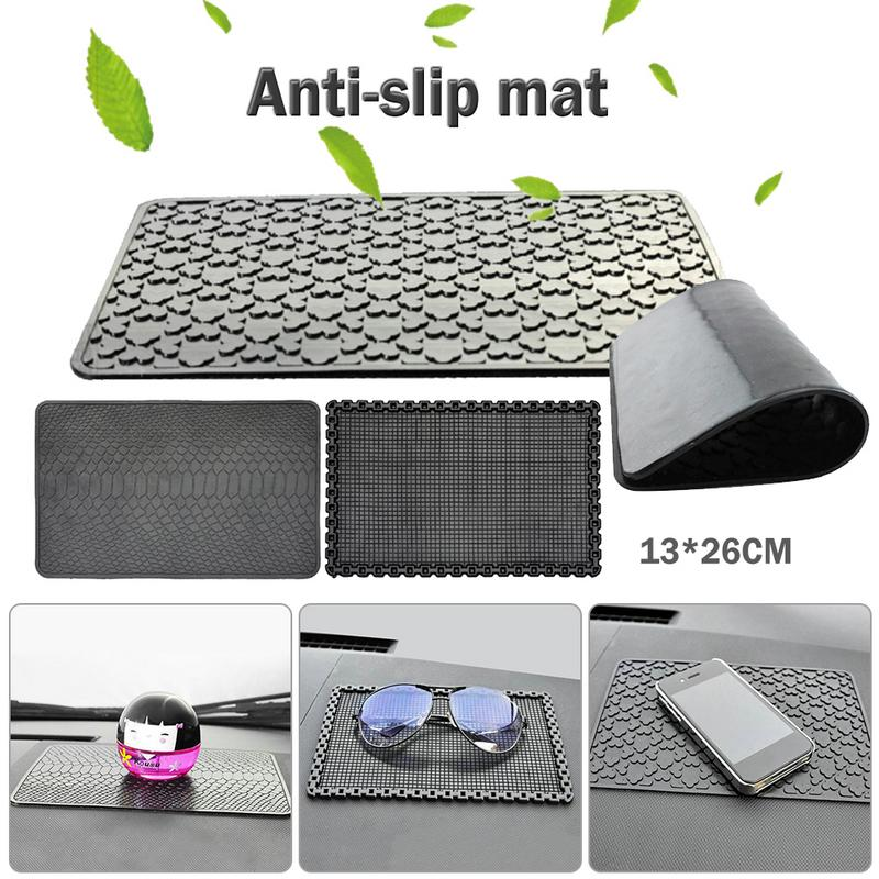 Dependable Car Silicone Nonslip Mat Phone High Temperature Resistant Anti-slip Anti-shock Sticky Pad Perfume Cushion Aesthetic Appearance