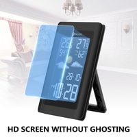 Digoo DG TH11300 Wireless HD Color Screen USB Outdoor Weather Station VA Glass Hygrometer Thermometer Forecast Sensor Clock