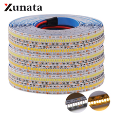 Hight Kwaliteit 3014 LED Strip DC12V Flexibele Tape 560 LEDs/m LED Light Lamp Wit Warm Wit Voor Home decoratie 5 m/partij