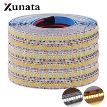 Hight Quality 3014 LED Strip DC12V Flexible Tape 560 LEDs/m LED Light Lamp White Warm White For Home Decoration 5m/lot