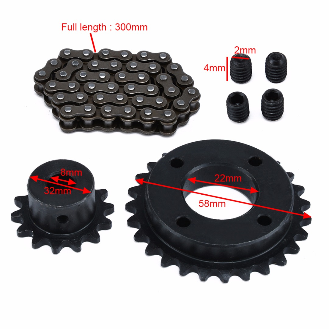 Image 3 - New Electric Longboard Skateboard Replace Part Sprocket Chain Wheel DIY Set Replacement Skate Board Accessories-in Skate Board from Sports & Entertainment