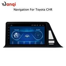Android 8,1 автомобильный DVD для toyota C-HR CHR C HR 2016-2018 автомобильный Радио мультимедийный плеер gps навигационная система