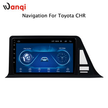 Android 8.1 DVD Do Carro para toyota C-HR CHR C RH 2016-2018 Car Radio Player Multimídia sistema de navegação gps(China)