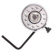 مقياس زاوية عزم الدوران الاحترافي 1/2 بوصة ، مجموعة أدوات المرآب اليدوية ، مفتاح الربط AT2136