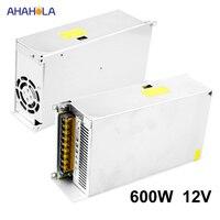 Switching Power Supply 12v 50a 600w Ac 220v to 12v Dc Led Strip Light Source Power Supply 12 V Switching Power Supply 12 V