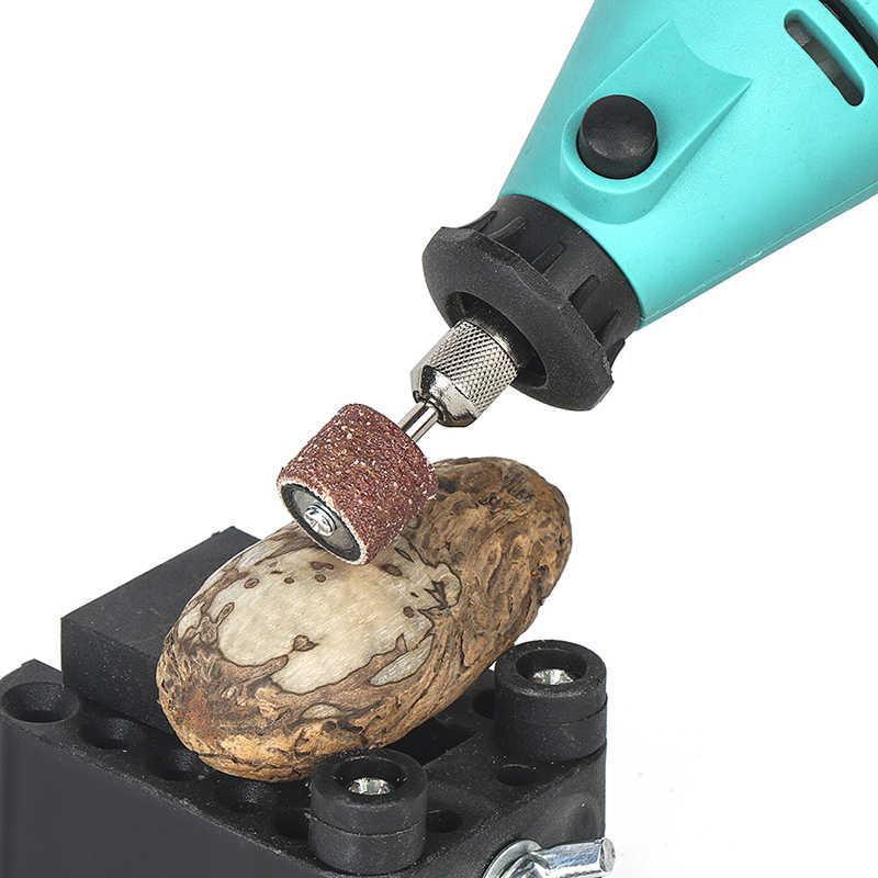 Tungfull 161Pcs Dremel סגנון אביזרי שוחקים כלים עץ מתכת חריטה חשמלי רוטרי כלי אבזר עבור Dremel קצת סט