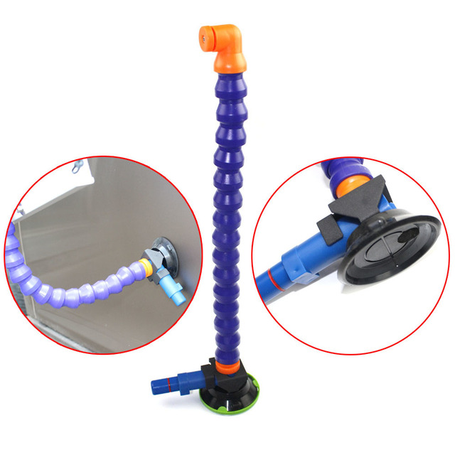 3inch Heavy Duty Hand Pump Suction Cup with flexible stand for PDR  light 1