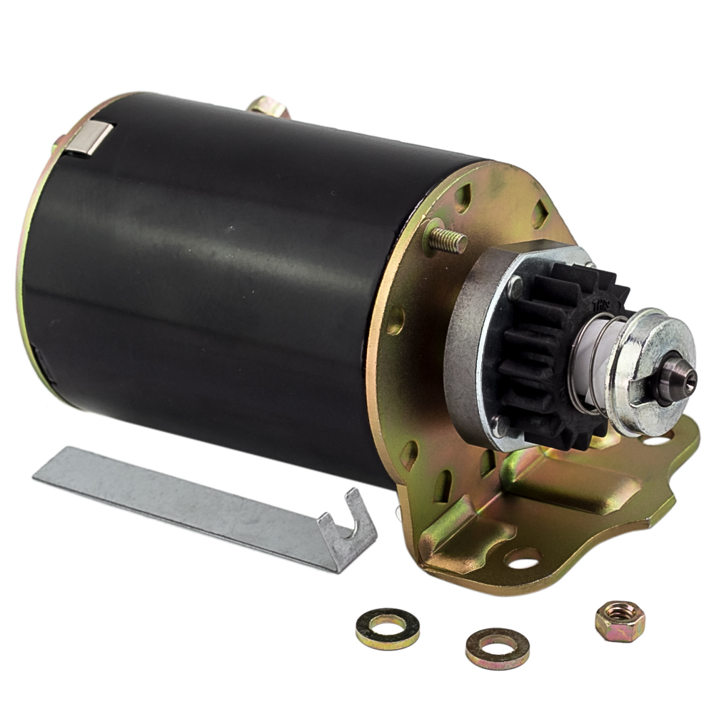 Briggs /& Stratton Starter Motor  BS497595 Fits all 8-12hp Ride on Mowers