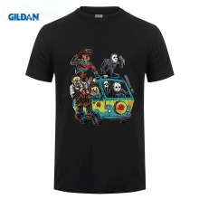 GILDAN funny men t shirt 2017 Newest Men Horror Movie The Massacre Machine Printed T Shirt Sleeve O-Neck Brand T-Shirt